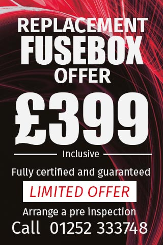 Replacement fusebox only £399